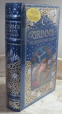 GRIMM'S COMPLETE FAIRY TALES by THE BROTHERS GRIMM- LEATHERBOUND & BRAND NEW!