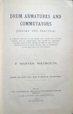 1894 – WEYMOUTH, DRUM ARMATURES AND COMMUTATORS – FISICA INGEGNERIA ELETTRICITÀ