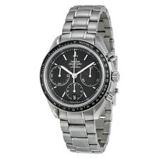 Omega Speedmaster Racing Automatic Chronograph Black Dial Stainless Steel Mens