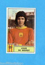 BELGIO-FOOTBALL 1972/73-PANINI-Figurina n.179- DE WEERDT -MECHELEN-Rec