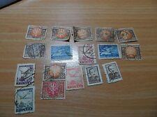Bundle of vintage Poland stamps