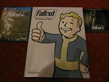 Fallout 4 + Franchise Book + Soundtrack - New - PS4