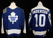 1991-92 Toronto Maple Leafs Glenn Anderson Game Worn Road Jersey -- Fletcher LOA