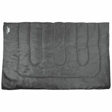 Trespass 400GSM Double Envelope Sleeping Bag - Free 90 Day Guarantee