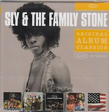 Sly & The Family Stone / A Whole New Thing, Dance to the Music, u.a. (5 CDs,NEU)