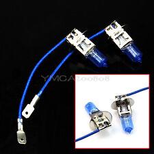 2X H3 Bombillas Xenón Lámpara Luz Blanca Bulb Xenon 6000K 100W 12V para Coche