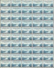 1948 - U.S. - CANADA - #961 Full Mint -MNH- Sheet of 50 Vintage Postage Stamps