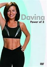 Davina Power of 3 (2004)  Davina McCall  BRAND NEW AND SEALED UK REGION 2 DVD