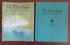 The River Bank from The Wind in the Willows Grahame Adrienne Adams HB/Dj 1st Ed