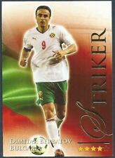 FUTERA 2010 WORLD FOOTBALL-SERIES 2- #656-BULGARIA/MANCHESTER U-DIMITAR BERBATOV