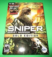 Sniper Ghost Warrior - PC - Gold Edition - Factory Sealed!! One Day Shipping!!
