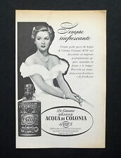 "C718 - Advertising Pubblicità- 1953 - ACQUA DI COLONIA GENUINA ""4711"""