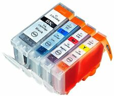 8 CompInk Cartridge for Canon PGI-5 BK 6 CLI-8 Color CMY