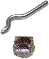 Jewelers Metal Stamp 999FS (FINE SILVER) Bent