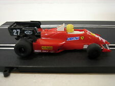 POLISTIL CHAMPION 175 rara slot car A130 FERRARI 126 C3 in scala 1:32 (1983)