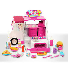 New Barbie Chill and Grill Food Truck Playset - 31 Pieces Model:24908575
