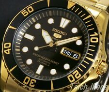 SEIKO 5 SPORTS SNZF22J1 (SNZF22JC) Automatic Gold Men's Watch EMS from Japan