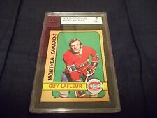 1972-73 OPC O-Pee-Chee #59 Guy Lafler 2nd year Canadiens - KSA 7 NM (centered)