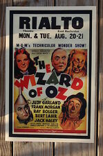 The Wizard of Oz #1 Movie Lobby Card Poster Rialto Judy Garland Frank M
