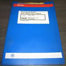 Werkstatthandbuch VW Golf IV 4 Bora Typ 1J 4AV Einspritzanlage Zündanlage AHW