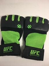 UFC Fighting Gloves L/XL Preowned Yellow green mesh