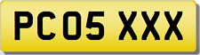 PC PCO  XXX SEXY  Private CHERISHED Registration Number