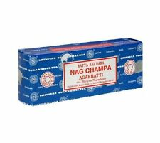 Satya Sai Baba Nag Champa Incense Sticks, 2 100-Gram Packs (200g/150 Sticks) NEW