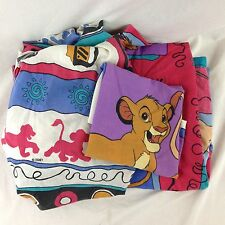 Disney The Lion King Simba Flat Fitted Pillowcase Twin Bed Sheet Set