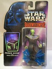STAR WARS SHADOWS OF THE EMPIRE PRINCE XIZOR WITH ENERGY BLADE SHIELD