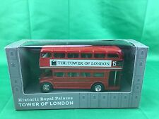 Historic Royal Palaces - Tower Of London - London Bus  Die Cast - (SHELF WEAR)
