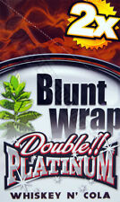 "1 Box Blunt Wrap Double ""Whisky Cola"" = 50 Blunts NEW Premium!"