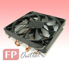 GELID SlimHero Slim Hero 4Heatpipe Low Profile Intel AMD PWM Fan CPU Cooler HTPC