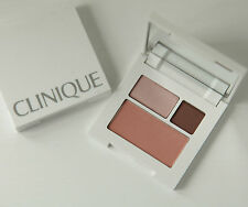 CLINIQUE BLUSHER & EYESHADOW COMPACT ~ROSE WINE & PINK BLUSH