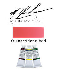 M Graham Watercolor 15ml Tube Quinacidone Red 33-155