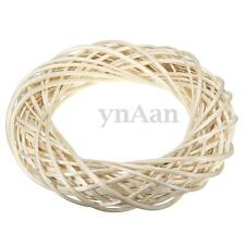 Willow Wreath Wicker Weave Ring Rustic Natural Wedding Party Home Decor 40cm