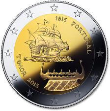 2 Euro Portogallo 2015 500 anni scoperta Timor