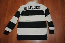 NEW TOMMY HILFIGER SPELL OUT RUGBY SHIRT SMALL S