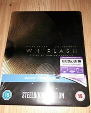 WHIPLASH BLU-RAY STEELBOOK LIMITED UK ZAVVI, SOLD OUT, (La La Land director)