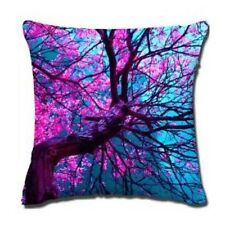 Dream Purple Tree Art Home Decor Cotton Linen Cushion Cover Soft Pillow 45cm NEW