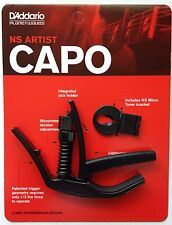 Planet Waves Daddario NS Artist Capo pw-cp-10 black for guitar