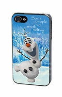 Disney Frozen Olaf Snowman Quote Phone Case Cover for iPhone 4 4S 5 5S 5C 6