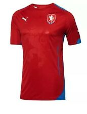 NWT Puma 744423 01 Czech Republic Home Soccer Jersey Dry Cell - Men's Sz M  $85