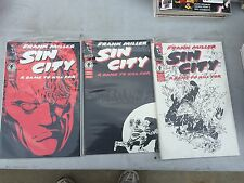 FRANK MILLER SIN CITY A DAME TO KILL FOR  SET  1 - 6
