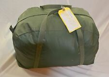 Genuine Military surplus Canvas bag Rope bag Duffle bag Water resistant canvas