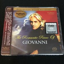 The Romantic Piano of Giovanni Marradi SACD CD NEW Top Music Limited No. Edition