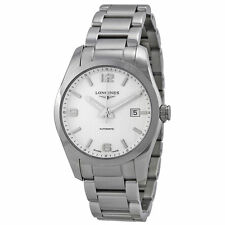New Longines Conquest Stainless Steel Bracelet Mens Watch L27854766