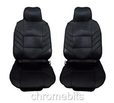 FRONT BLACK COMFORT PADDED SEAT COVERS FOR OPEL VAUXHALL CORSA C D MERIVA ASTRA