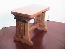 VTG small oak foot stool