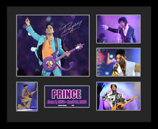 New Prince Signed Limited Edition Memorabilia Framed
