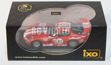 IXO Models 1/43 DieCast DODGE VIPER Red ORECA #91 WINNER 24H DAYTONA  -New- x+